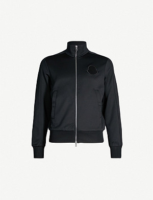 MONCLER Logo-appliquéd stretch-jersey jacket