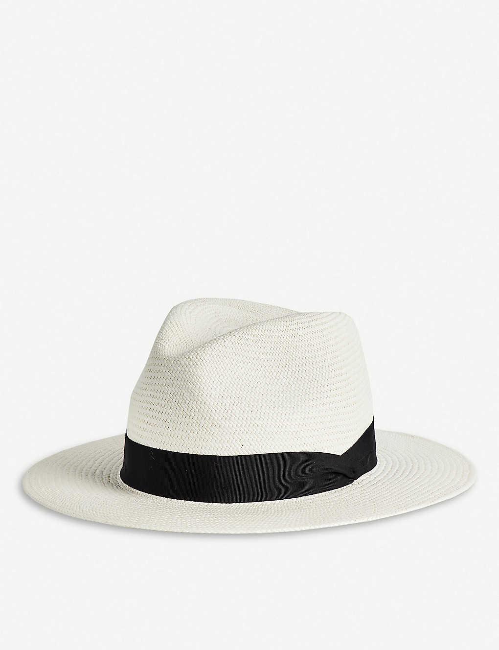 9490fb7a54ecc RAG   BONE - Straw Panama hat
