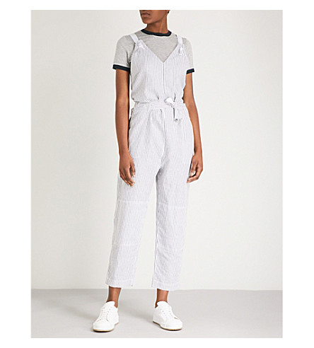 03e93c4e5118 RAG   BONE Ellen cotton and linen-blen jumpsuit (Salute strp