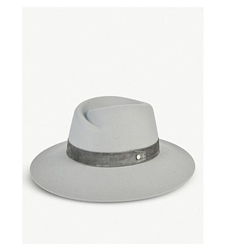 2290ca9ba4a ... RAG   BONE Zoe wool fedora hat (Dove. PreviousNext