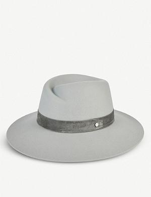 016eaec5ea723 RAG   BONE - Wide brim fedora hat