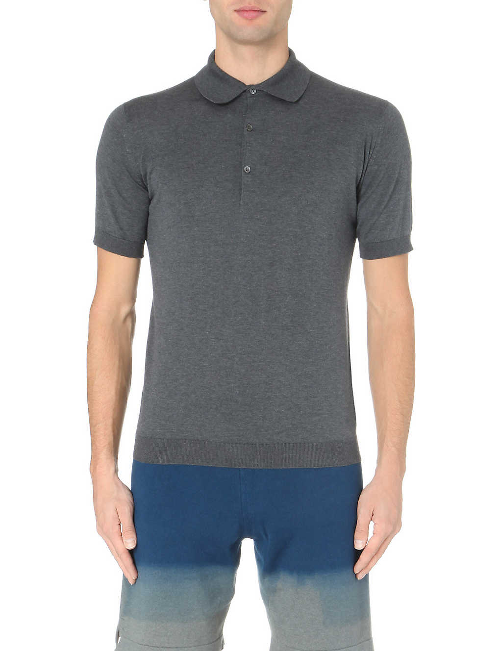 bd2fc4bbc JOHN SMEDLEY - Adrian cotton polo shirt | Selfridges.com