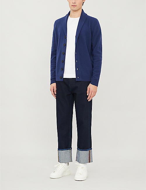 JOHN SMEDLEY Patterson cashmere and wool cardigan