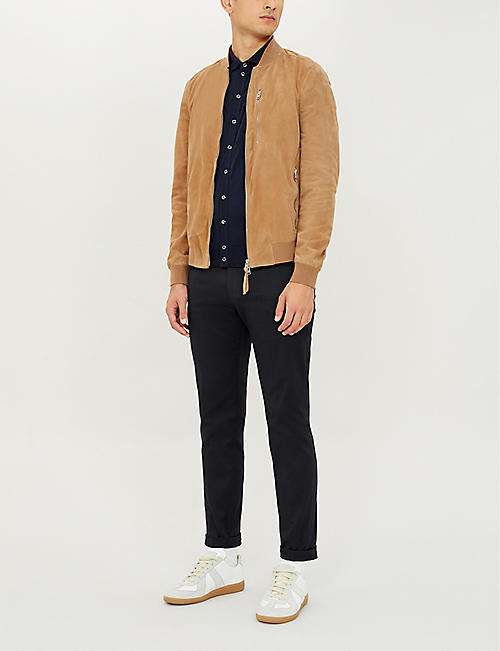 JOHN SMEDLEY Roston regular-fit wool shirt