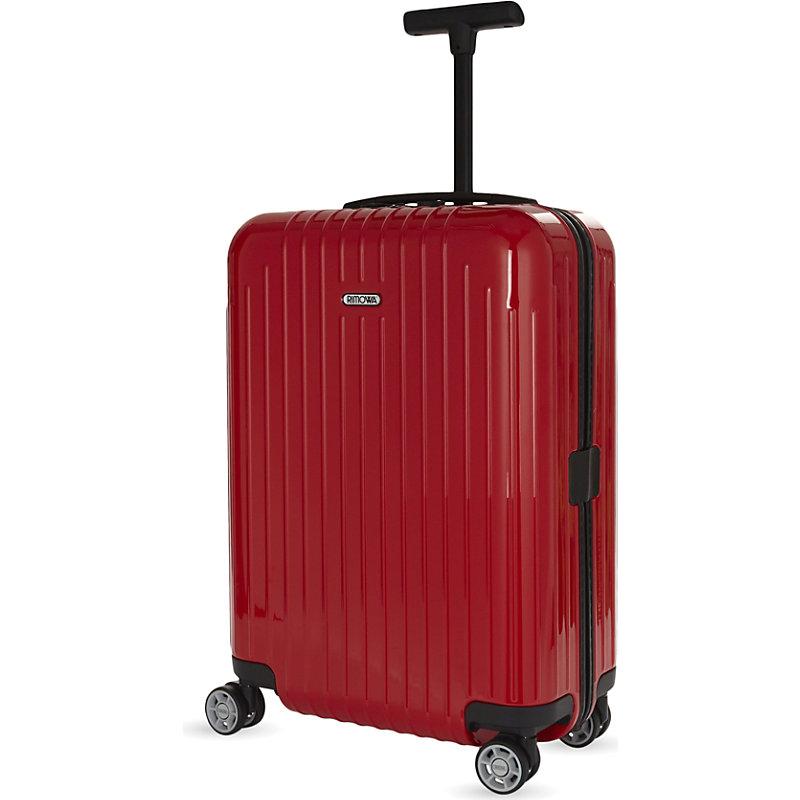RIMOWA   Rimowa Salsa Air Four-Wheel Suitcase 67cm, Guards Red   Goxip