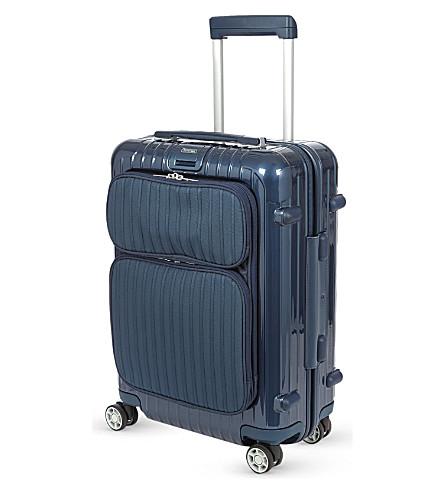 rimowa salsa deluxe hybrid four wheel cabin suitcase. Black Bedroom Furniture Sets. Home Design Ideas