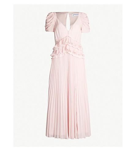 9125fd813998 SELF-PORTRAIT - Ruffled chiffon midi dress | Selfridges.com