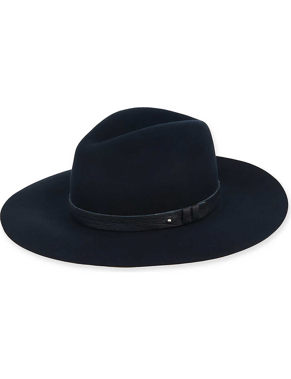 cecb43aa238dc RAG   BONE - Wide brim fedora hat
