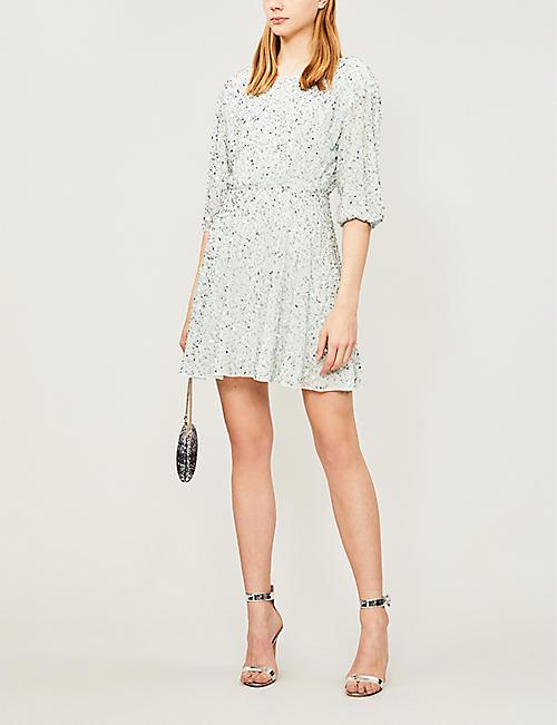 680c50e6805 ALICE   OLIVIA Palmira sequinned dress
