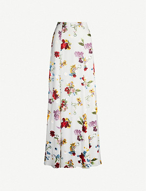 ALICE & OLIVIA Anthena devore skirt