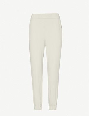ALICE & OLIVIA Pete crepe jogging bottoms