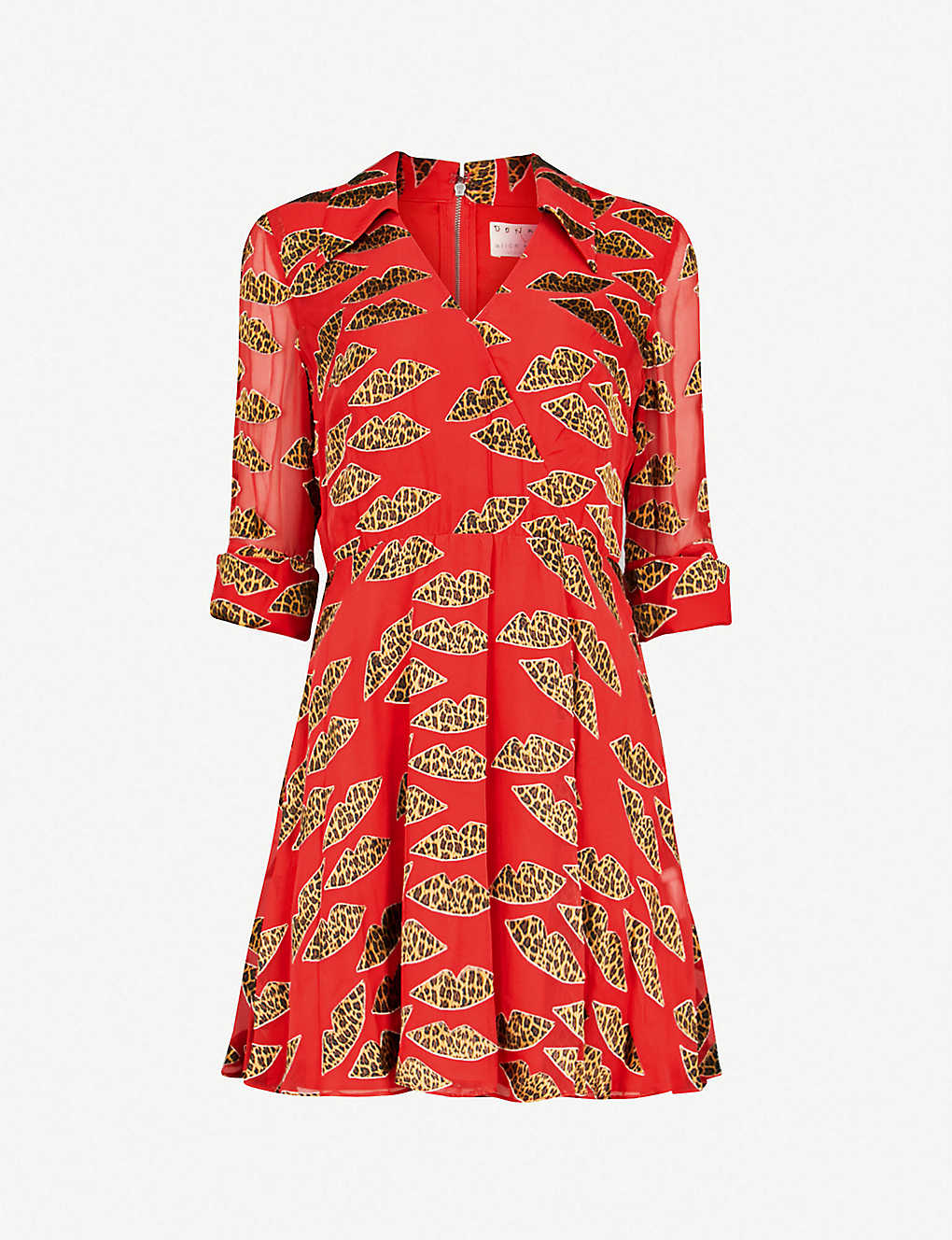da872c2b1ea0 ALICE & OLIVIA - Catina devoré-print chiffon mini dress | Selfridges.com