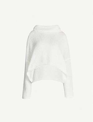 FREE PEOPLE BFF turtleneck knitted jumper
