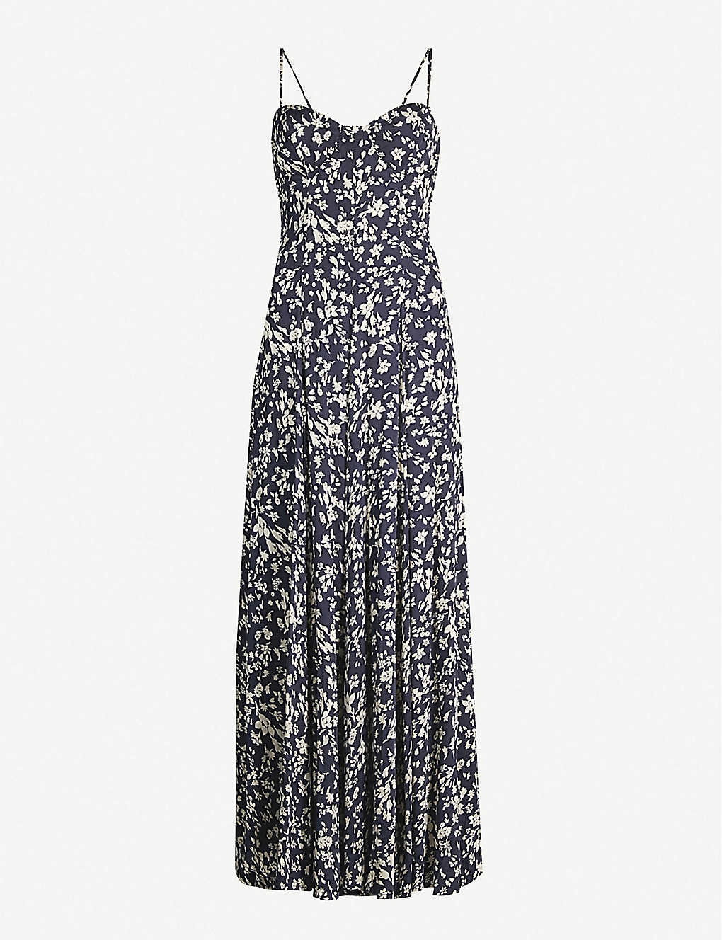 17de2377c8c Under The Moonlight floral-print rayon-blend maxi dress