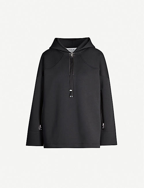 SHOREDITCH SKI CLUB Raven cotton-jersey hoody