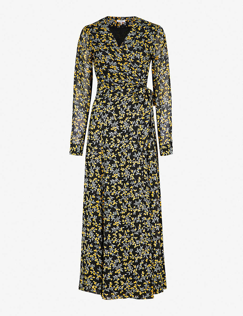 7c75fa5166bd GANNI - Marceau georgette maxi dress | Selfridges.com