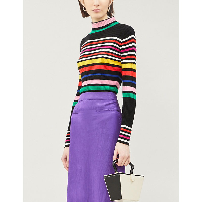Paper London  RAVE KAWAI STRIPED WOOL JUMPER