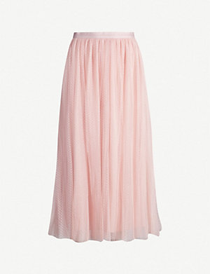 super cute distinctive style best shoes NEEDLE AND THREAD - Dotted tulle skirt | Selfridges.com