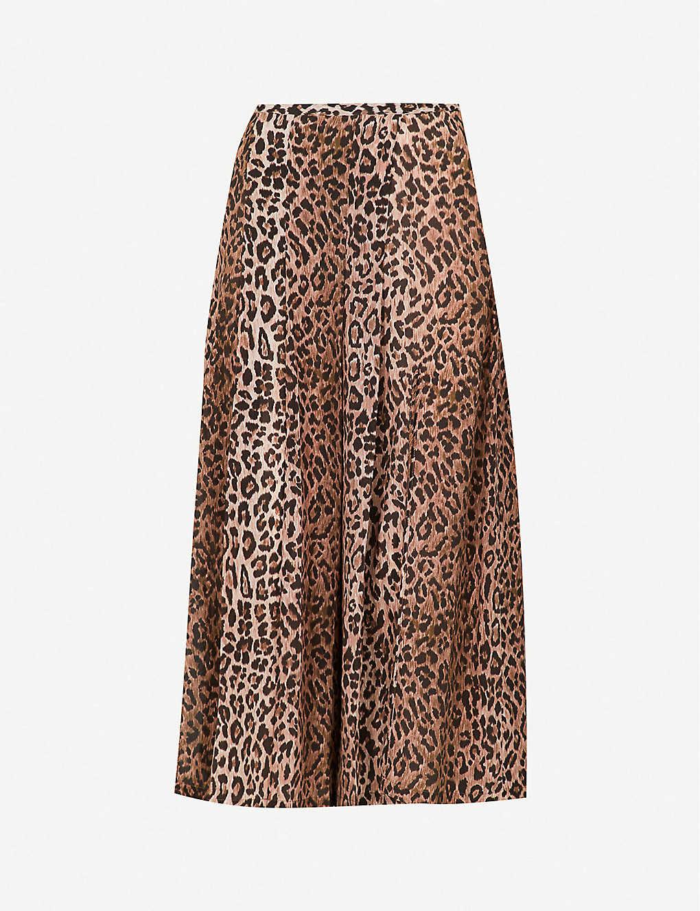 43edc223cd66 RIXO - Georgia high-rise silk skirt | Selfridges.com