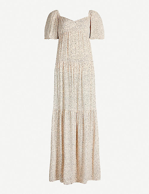 3739d4604d3 BA SH Bahia floral-print crepe maxi dress