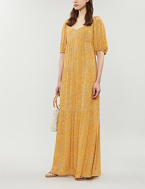 f29dc3fd95 BA SH Bahia floral-print crepe maxi dress