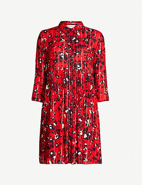 0dc02e979e1 BA SH Erine floral print shirt dress