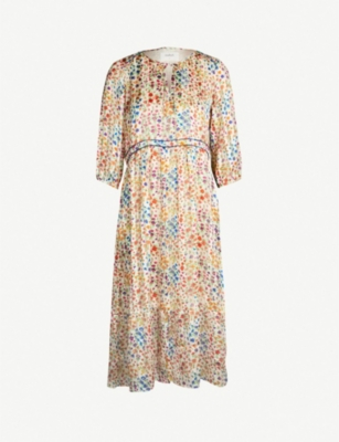 BA&SH Reese floral-print woven dress