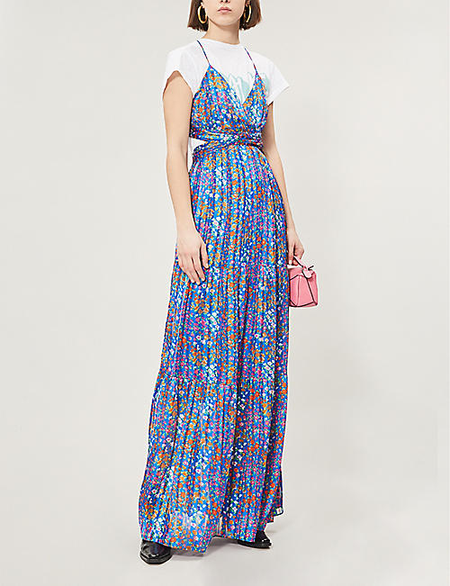 BA&SH Rosy floral-print woven dress