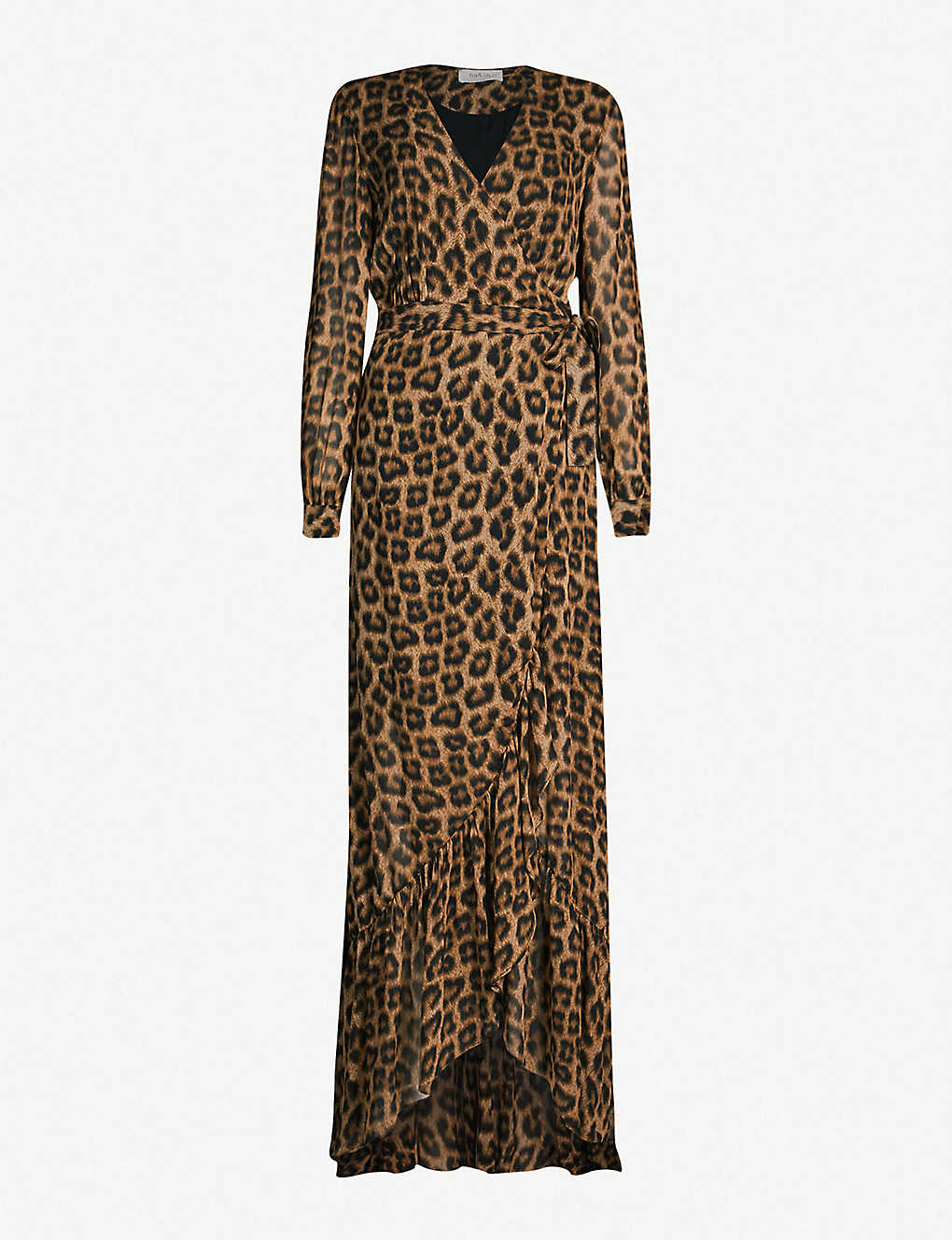 7649428adef8 BA&SH - Pattie leopard-print crepe maxi wrap dress | Selfridges.com