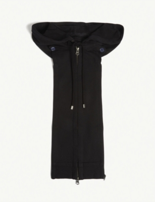 VERONICA BEARD Cotton-blend Hoody Dickey