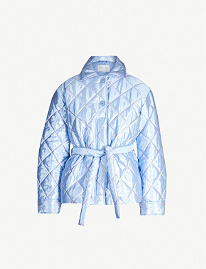 STINE GOYA Aditi quilted satin jacket