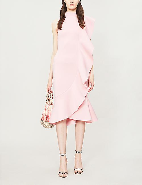 4adf16828cd7 LAVISH ALICE Frilled neoprene dress. Quick Shop