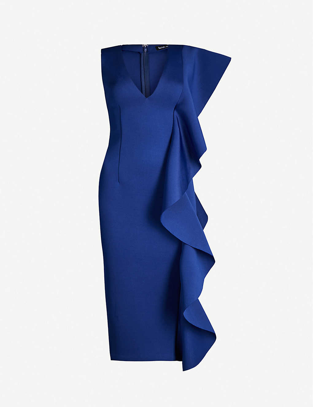 Frilled Neoprene Dress