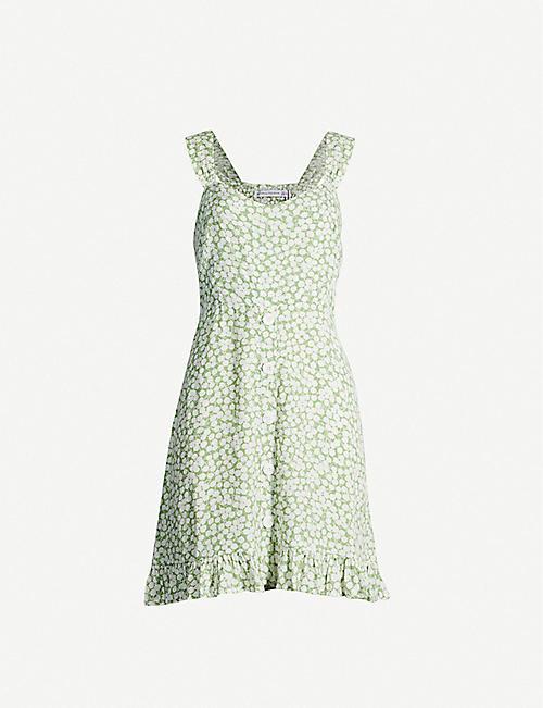 92ef92a471 FAITHFULL THE BRAND Lou Lou floral-print rayon mini dress