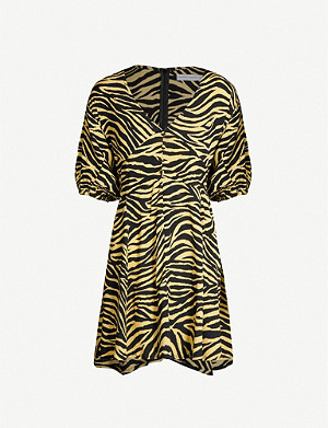 FAITHFULL THE BRAND Ilia rayon mini dress