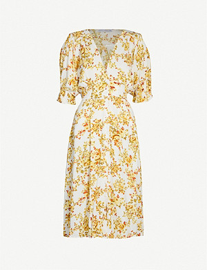 FAITHFULL THE BRAND Rafa floral-print rayon midi dress