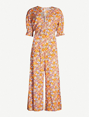 FAITHFULL THE BRAND Anka woven jumpsuit
