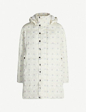 N DUO Floral jacquard puffer jacket