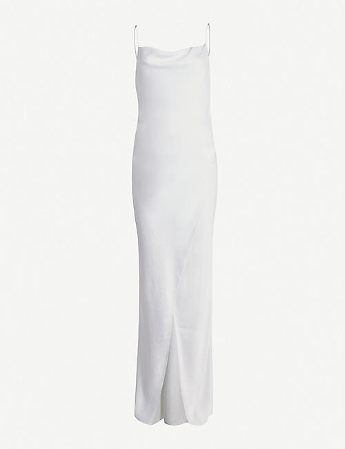 CAMILLA AND MARC Bowery sleeveless satin maxi dress