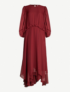 CAMILLA AND MARC Dylan long-sleeved crepe midi dress