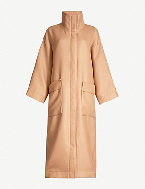 CAMILLA AND MARC Aria waist-tie twill coat