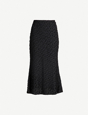 CAMILLA AND MARC Mathilde jacquard midi skirt