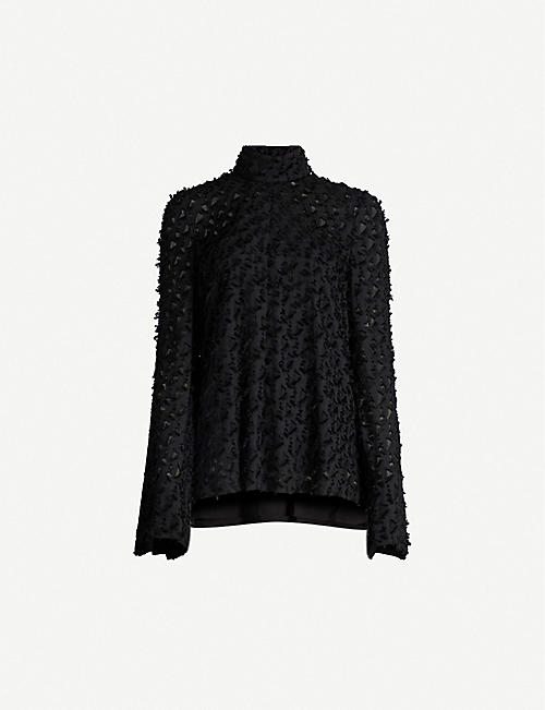 CAMILLA AND MARC Mathilde long-sleeved jacquard top