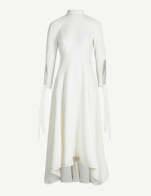 CAMILLA AND MARC Rae fit-and-flare crepe midi dress