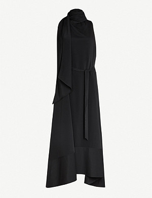 CAMILLA AND MARC Cannes draped crepe midi dress
