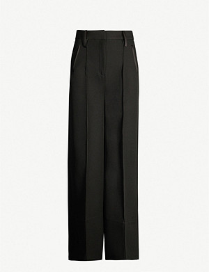CAMILLA AND MARC Demarco high-rise wide stretch-crepe trousers