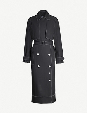 CAMILLA AND MARC Faith regular-fit belted crepe jacket
