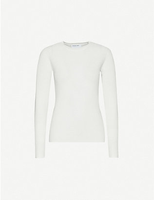 DESIGNERS REMIX: Slim-fit knitted jumper