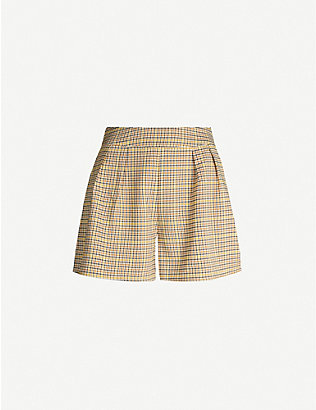 NEVER FULLY DRESSED: Dynasty crepe shorts