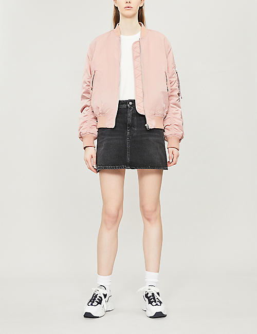ACNE STUDIOS Caitlyn A-line denim skirt